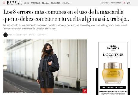 lamasQ en Harper's Bazaar