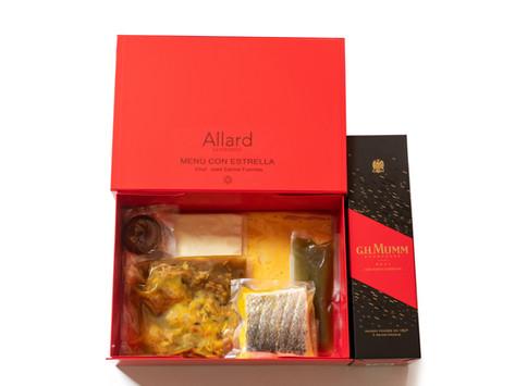 Allard Experience lanza su 'Menú con estrella - Pasión' elaborado con ingredientes afrodisíacos