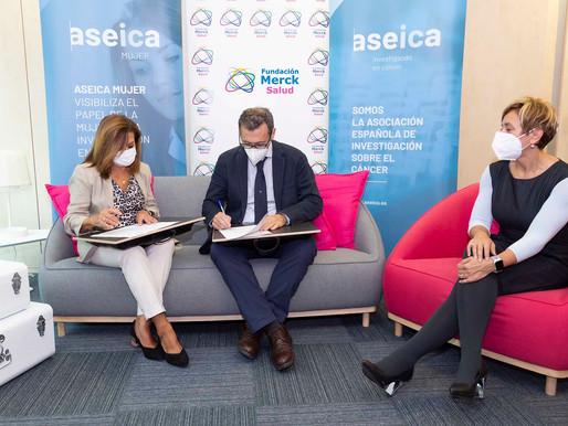 Fundación Merck Salud y Aseica firman un convenio para el impulso de las vocaciones científicas