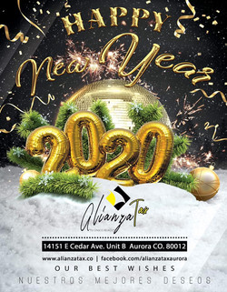 ALIANZA TAX NEW YEAR 2019