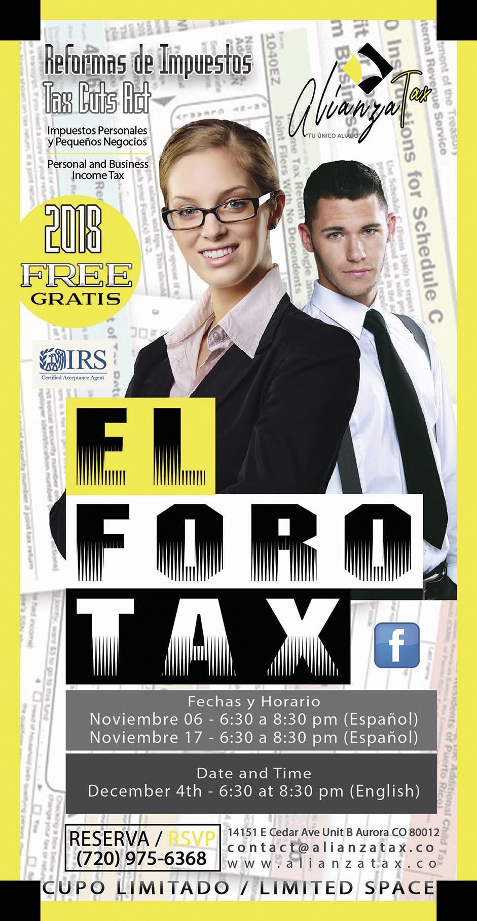 Foro Alianza Tax