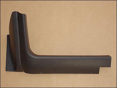 1970-74 E-Body (Except 70 Challenger) Left Hand Lower Dash Trim