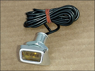 Dash Mounted 4-Speed Reverse Light