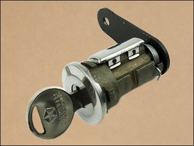 1970-72 Cuda and Barracuda Trunk Lock and Key