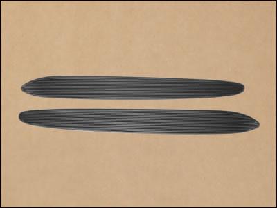 1970-74 Cuda Hood Scoop Ribbed Inserts
