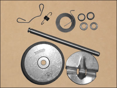 1970-74 383-HP, 400-HP, and 440-HP Exhaust Manifold Heat Riser Repair Kit