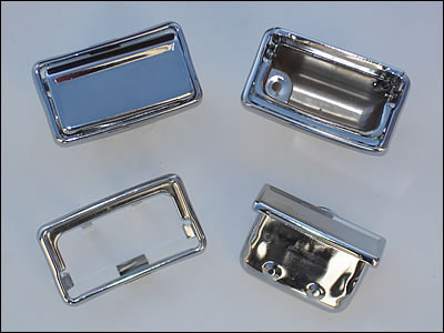 1970 through '74 E-Body Dash Ashtray Inserts with Rivets