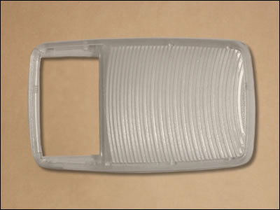 1970-71 E-Body Overhead Console Light Lens