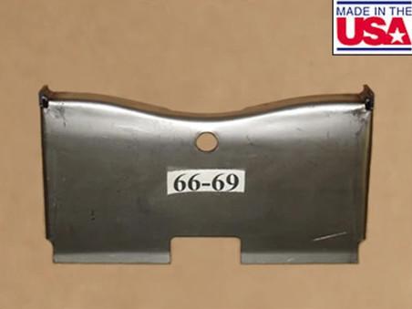 1966-69 B-Body Hemi K-Frame Skid Plate