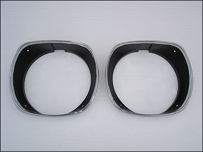72 to 74 Cuda headlight Bezels