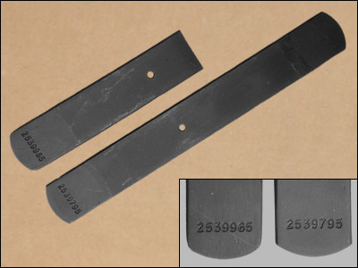 1966-69 B-Body Heavy Duty Leaf Spring Lower Leafs, with Numbers