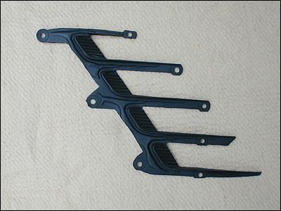 1972-74 Rallye Challenger Fender Scoop Plastic Inserts