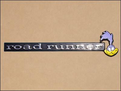 1971-74 Road Runner Dash Emblem