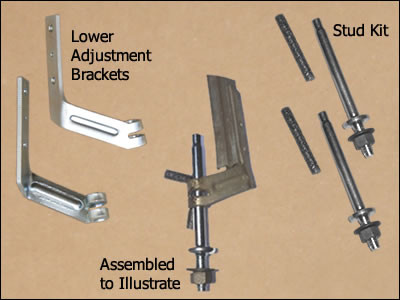 Lower Vent Frame Brackets & Studs