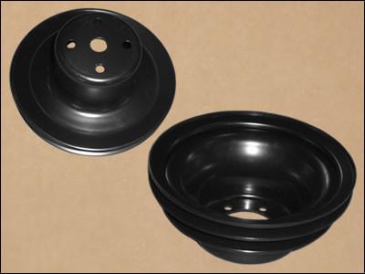 Upper Pulley / 2-Groove Power Steering Crank Pulley