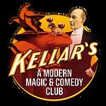 Kellar's A Modern Magic & Comedy Club Logo
