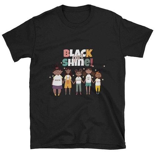Black Girl Shine T-Shirt (Adult)