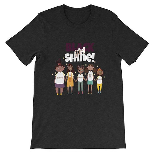 Black Girl Shine T-Shirt (Adult)