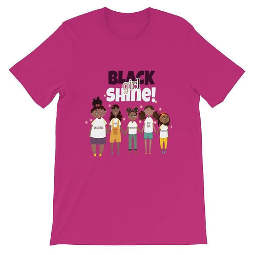 Black Girl Shine T-Shirts (Adult)