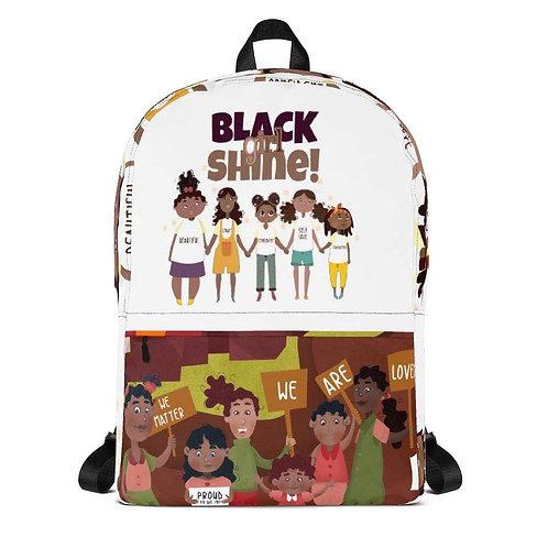 Black Girl Shine Backpack