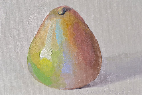 A Green Red Pear