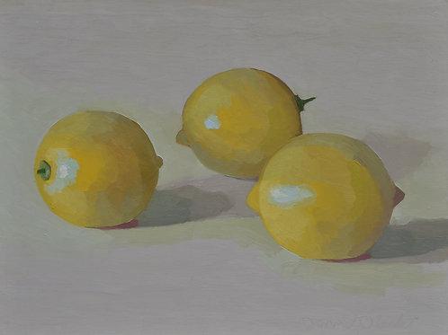 Three Lemons