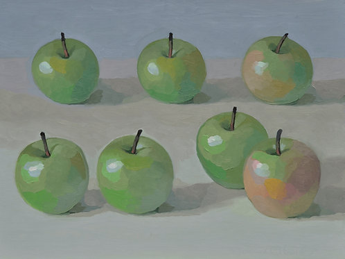 Seven Green Apples