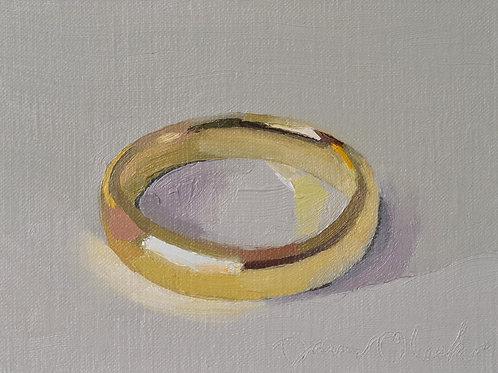 A Gold Wedding Band
