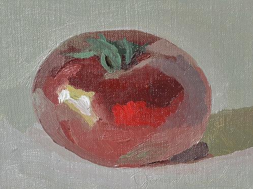 A Dark Heirloom Tomato