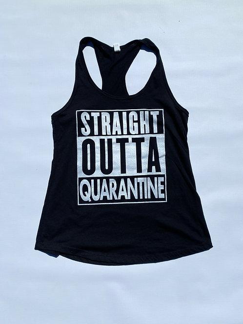 Straight Outta Quarantine (Tank Top)