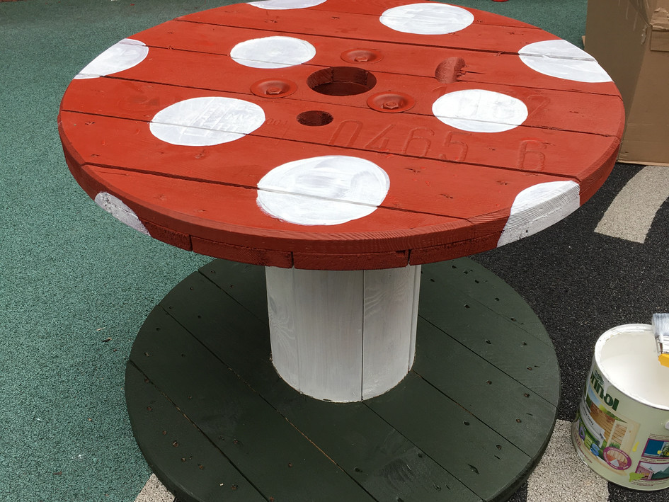 Toadstool Cable Reel