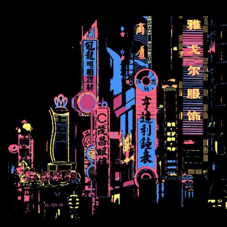Night Lights of Shanghai