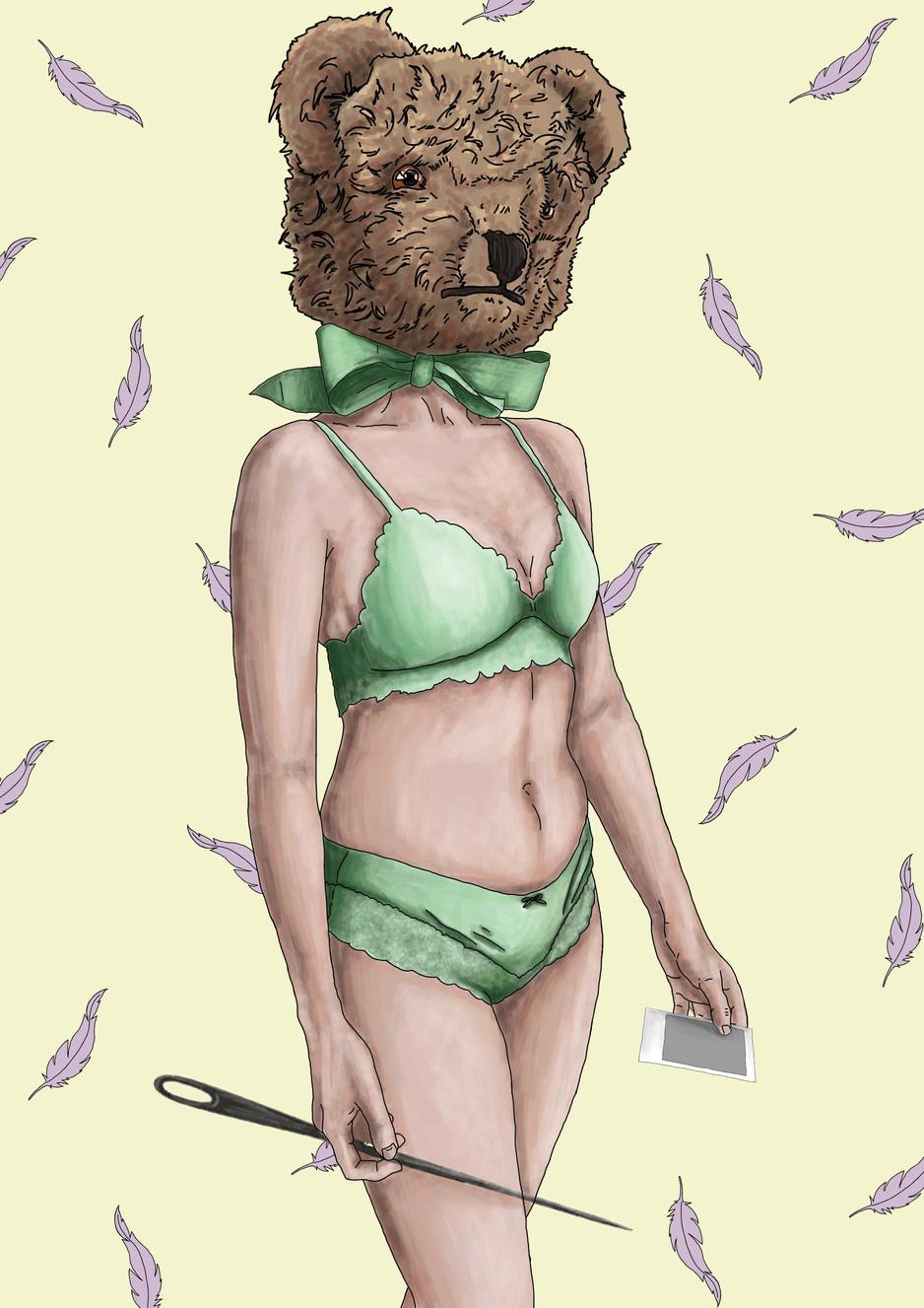 Teddy Bear Digital Painting