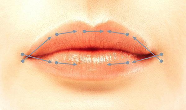 Lippenaufbau / Lippenkorrektur