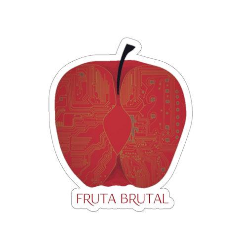 Fruta Brutal Logo Sticker