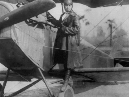 First Black Female Aviator