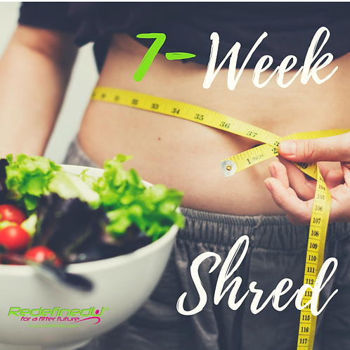 The 7 WEEK SHRED Complete package