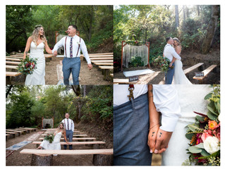 Amazing Woodsy Outdoor             Backyard Wedding