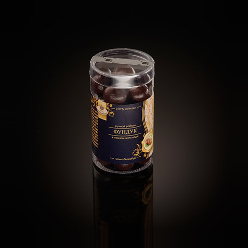 Фундук в темном шоколаде (85 гр.)