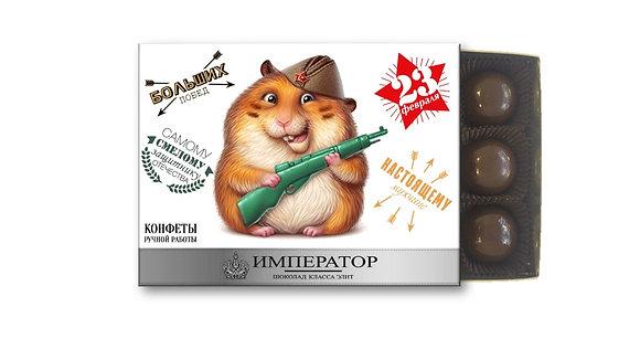 "Набор конфет ""ЗАЩИТНИКУ"" (12 конф.)"