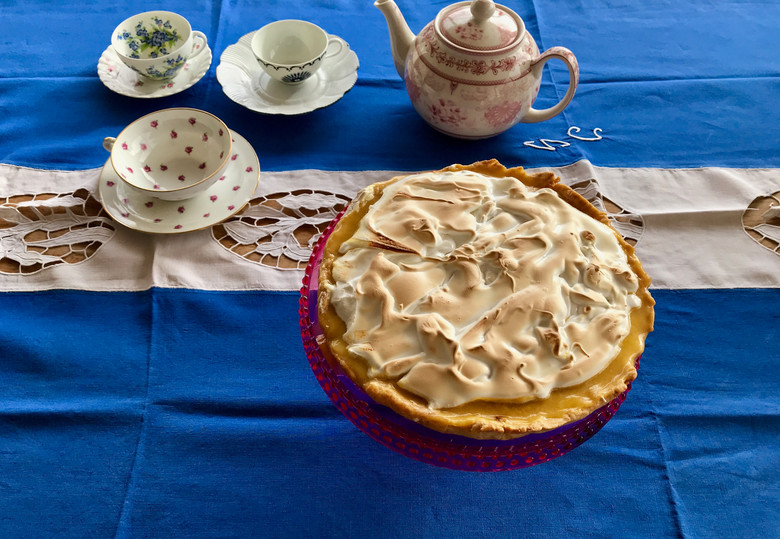 La tarte au citron du dimanche 😊