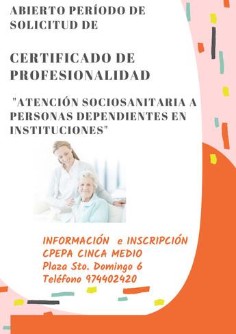 Solicitud Certificados de Profesionalidad