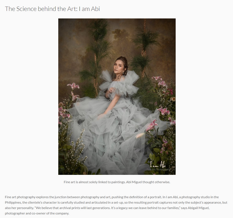 Canon Philippines...The Science Behind the Art: I am Abi