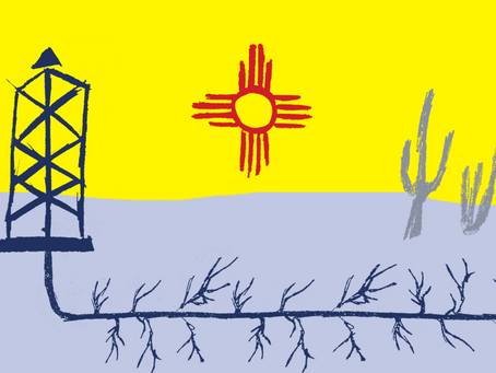 New Mexico fights to escape the powerful gripof big oil and gas