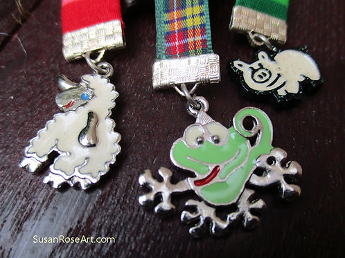 Awarded to the BEST Animal Carer Brooch Medal