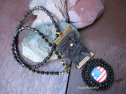 Mourning America Necklace