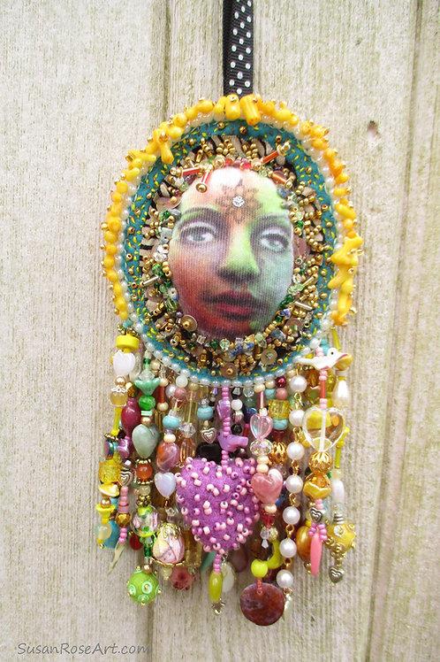 Gender Fluid Spirit Doll Wall Hanging
