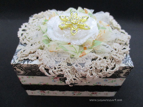 Wooden Trinkets Box