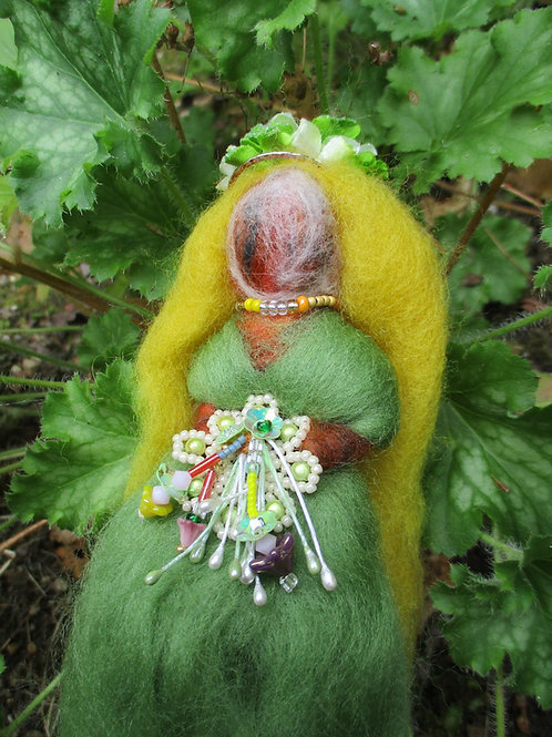 Demeter, Goddess of Nature Spirit Doll