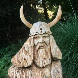 Viking bust. Sept 2018